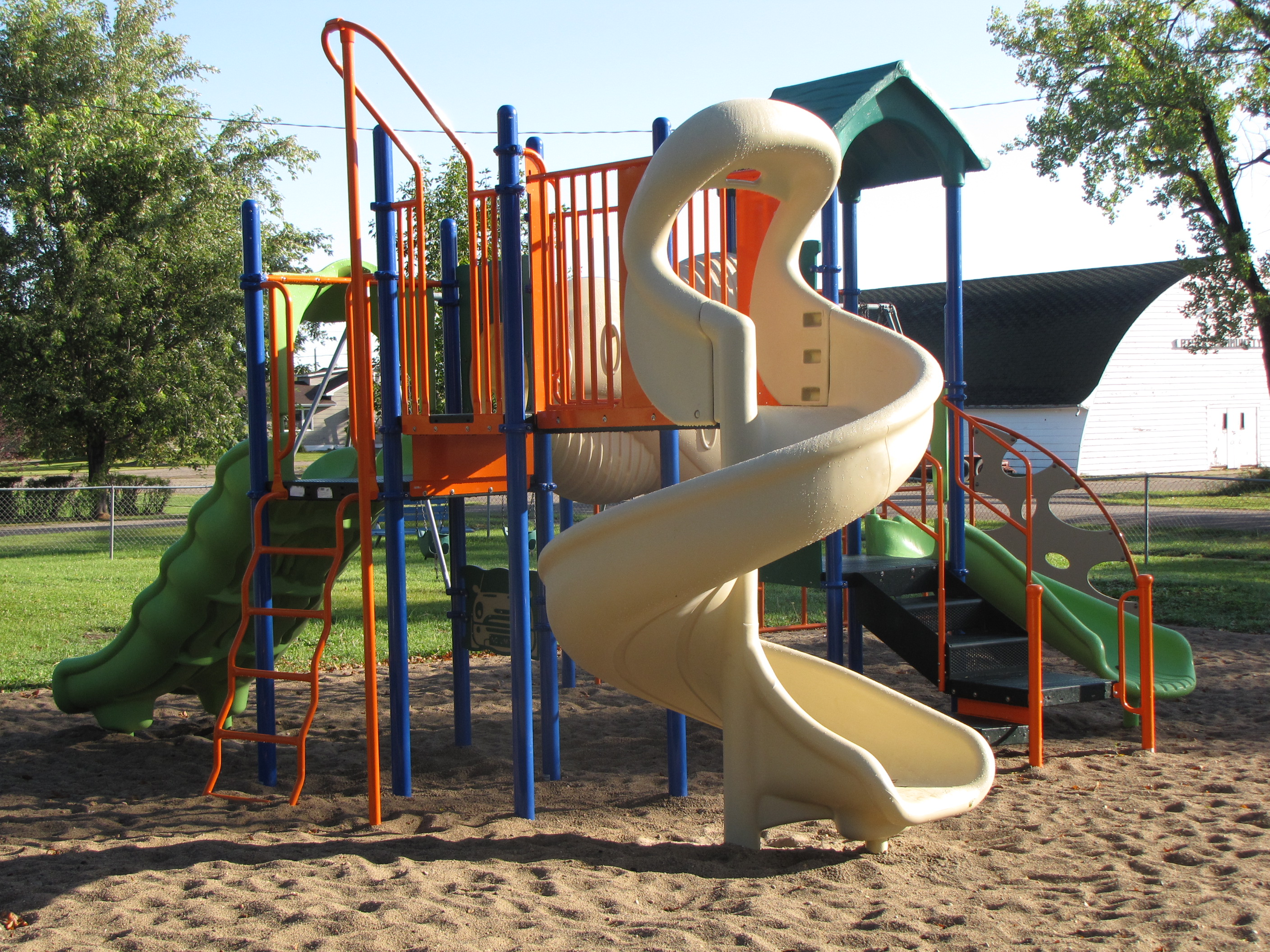 The new Pisek Park Playground Equipment!